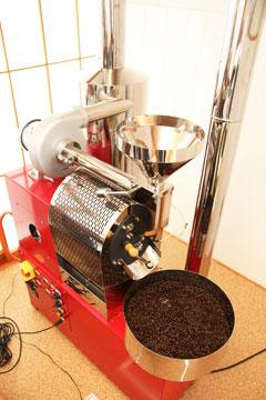 珈琲焙煎機